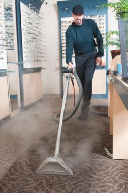 Commercial carpet cleaning in Winchester MA